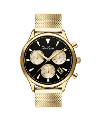 MOVADO Movado Heritage Series3650098 – 43mm Heritage Calendoplan Chrono - Front view