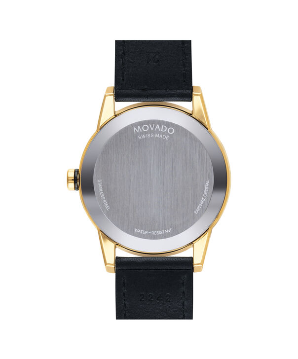 MOVADO Museum Sport0607223 – Men's 42 mm strap watch - Back view