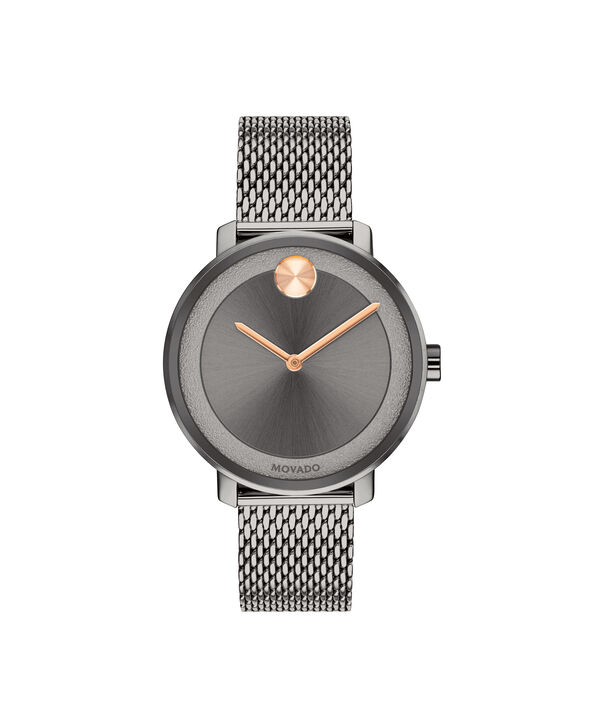MOVADO Movado BOLD3600581 – 34 mm grey bracelet watch - Front view