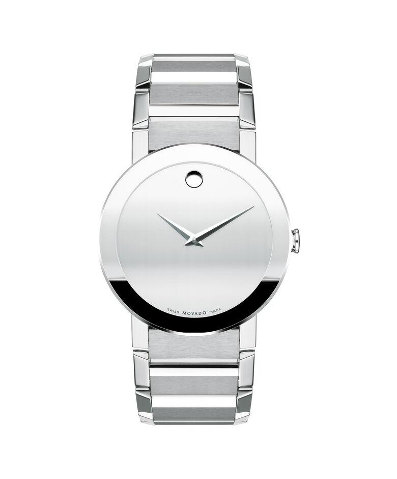 MOVADO Sapphire0606093 – Montre-bracelet à cadran de 38 mm pour hommes - Front view