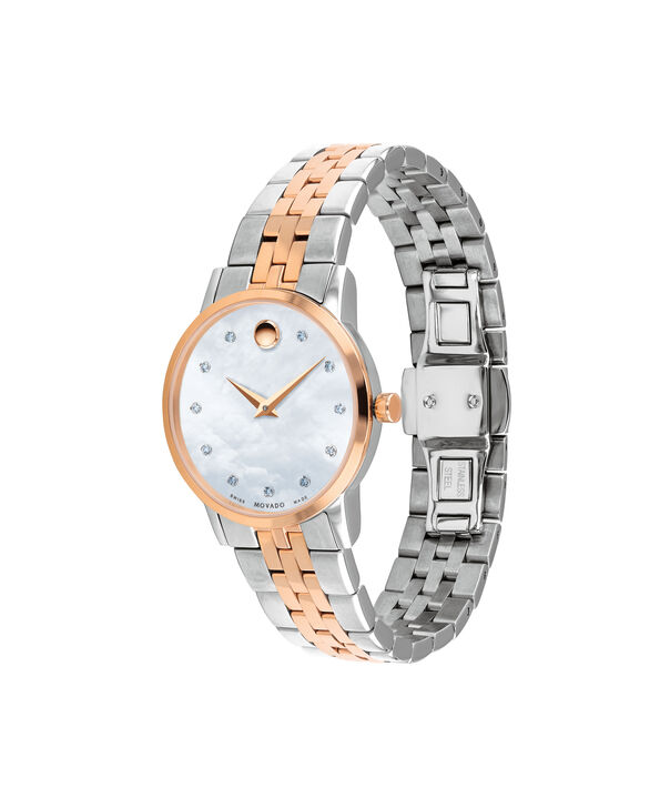 MOVADO Museum Classic0607209 – Women's 28 mm bracelet watch - Side view