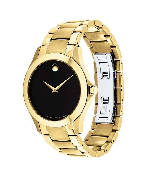 MOVADO Masino0607034 – Men's 40 mm bracelet watch - Side view