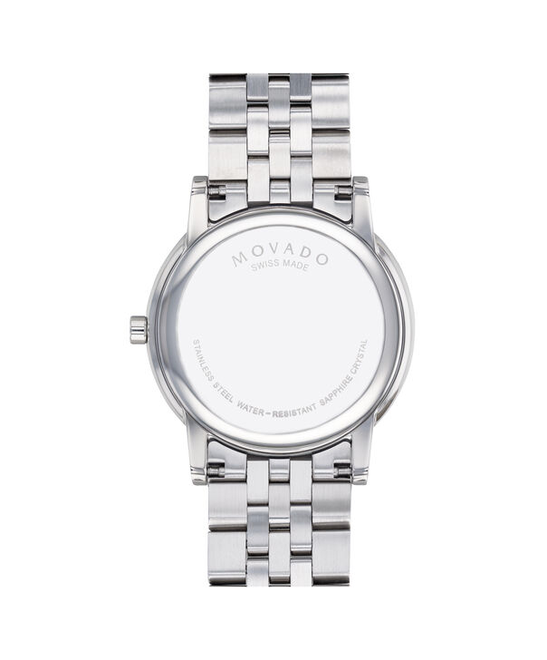 MOVADO Museum Classic0607212 – Men's 40 mm bracelet watch - Back view