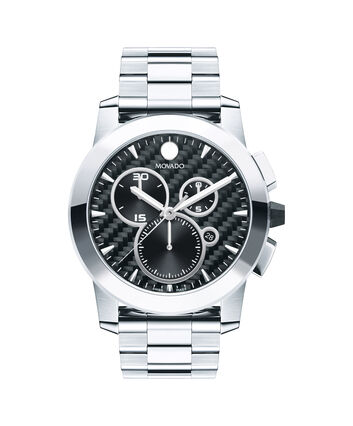 MOVADO Vizio0606551 – Men's 44.5 mm bracelet chrono - Front view