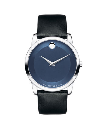 MOVADO Museum Classic0606610 – Men's 40 mm strap watch - Front view
