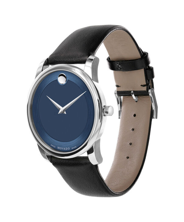MOVADO Museum Classic0606610 – Men's 40 mm strap watch - Side view