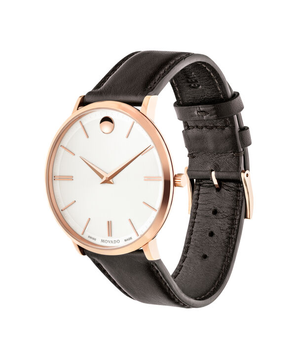 MOVADO Movado Ultra Slim0607089 – Men's 40 mm strap watch - Side view
