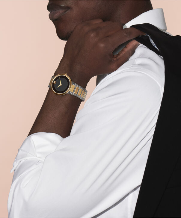 MOVADO Modern Classic0607120 – Montre-bracelet à cadran de 39.5 mm pour hommes - Other view