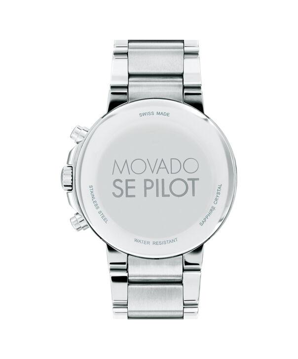 MOVADO SE Pilot0607129 – Chronographe de 42 mm pour hommes - Back view
