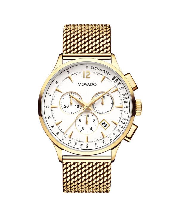 MOVADO Movado Circa0607080 – Chronographe de 42 mm avec bracelet souple pour hommes - Front view
