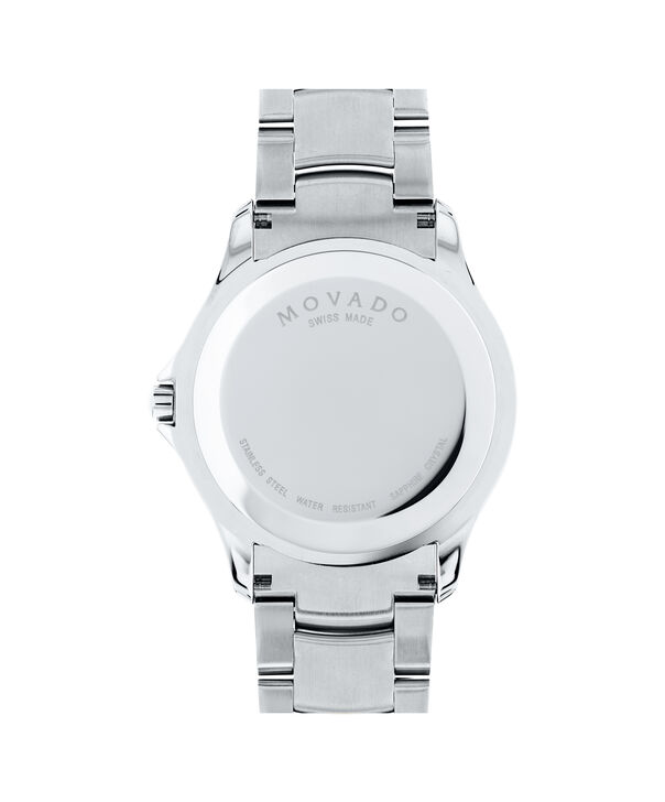 MOVADO Masino0607036 – Men's 40 mm bracelet watch - Back view