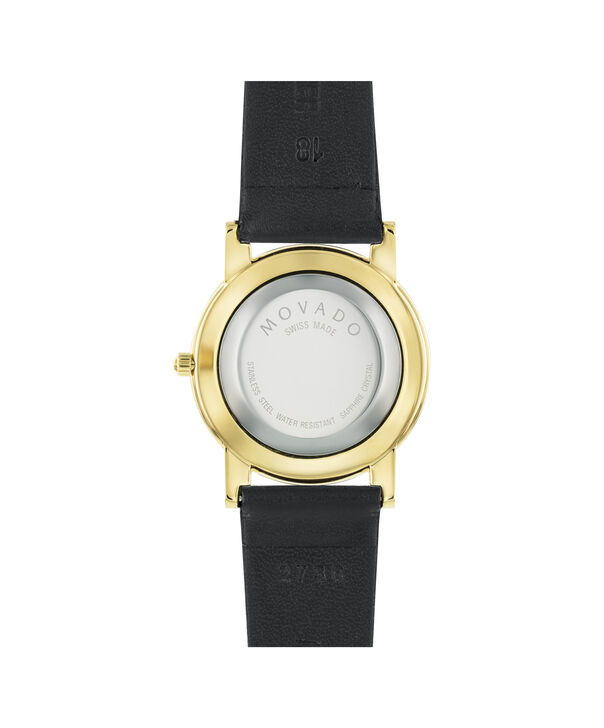 MOVADO Moderna0604228 – Men's 31 mm strap watch - Back view