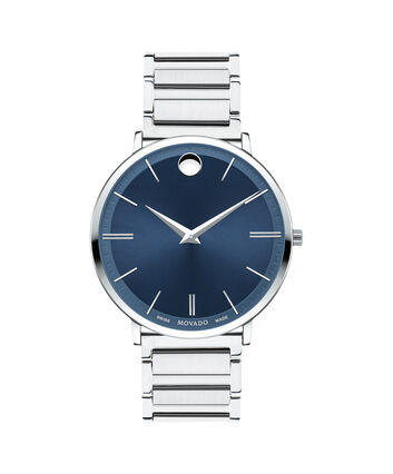 MOVADO Movado Ultra Slim0607168 – Men's 40 mm bracelet watch - Front view