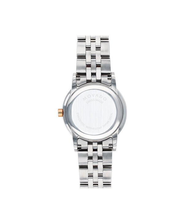 MOVADO Museum Classic0607268 – Women's 28 mm bracelet watch - Back view