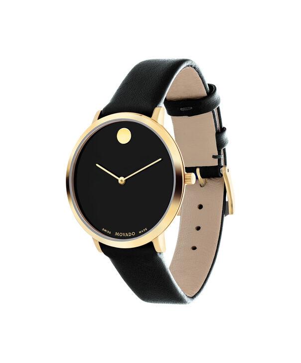 MOVADO 70th Anniversary0607137 – Montre à bracelet souple avec cadran en de 35 mm - Side view