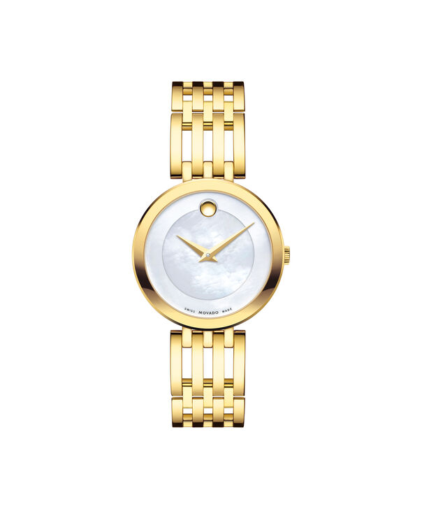 Movado | Esperanza Women's Gold Watch with Mother of Pearl Dial