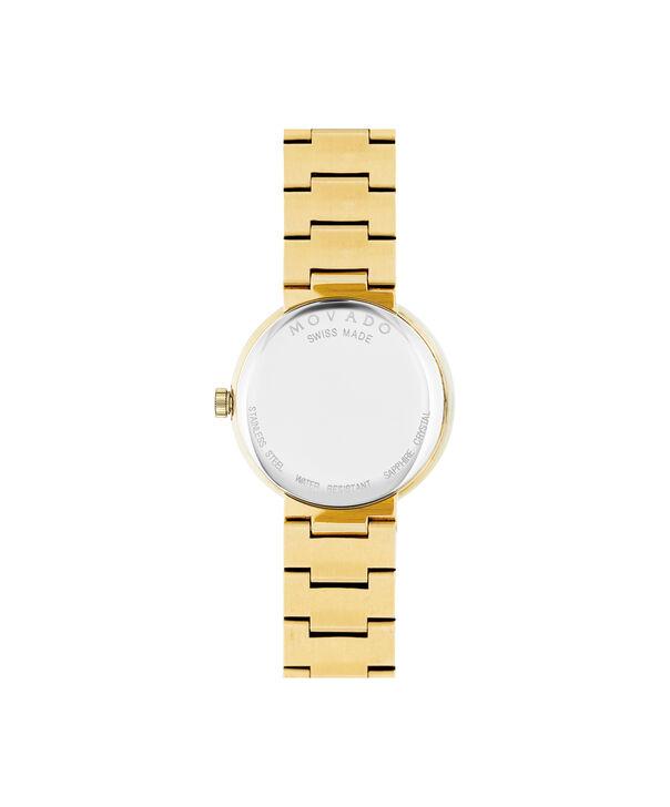MOVADO Sapphire0607214 – Montre-bracelet à cadran de 26 mm pour femmes - Back view