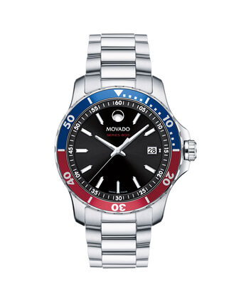 MOVADO Series 8002600152 – Series 800 40 mm 3 aig. - Front view
