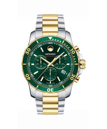 MOVADO Series 8002600148 – Men's 40 mm chronograph bracelet watch - Front view